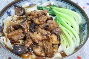 S.3 Spicy Chicken Mushroom Noodle Soup
